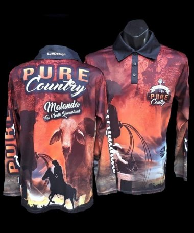 Pure Country Logo Fishing Shirts